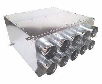 10×75 rozdzielacz dwurzędowy panel